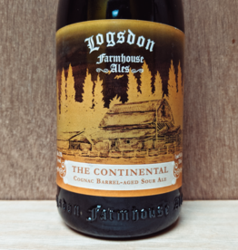 Logsdon 'The Continental' Cognac Barrel aged Golden Sour Ale  750ml
