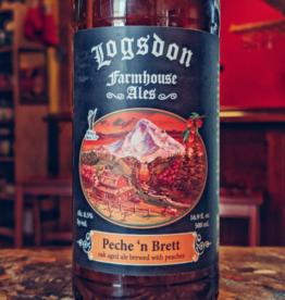 Logsdon 'Peche n Brett' Oak Aged Ale 500ml