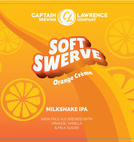 Captain Lawrence 'Soft Swerve Orange Creme' Milkshake IPA 16oz Can