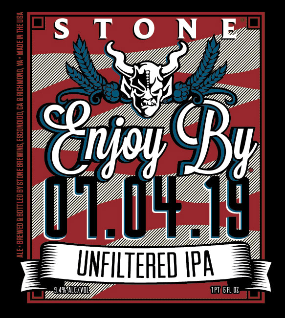 Stone Brewing 'Enjoy By 07.04.19' IPA 12oz (Can)