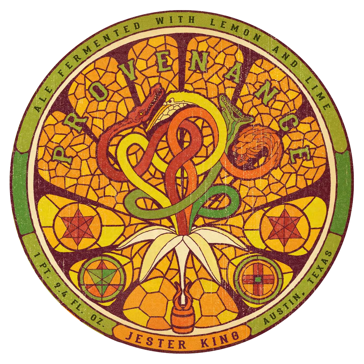 Jester King 'Provenance' Farmhouse Ale w/ Lemon & Lime 750ml