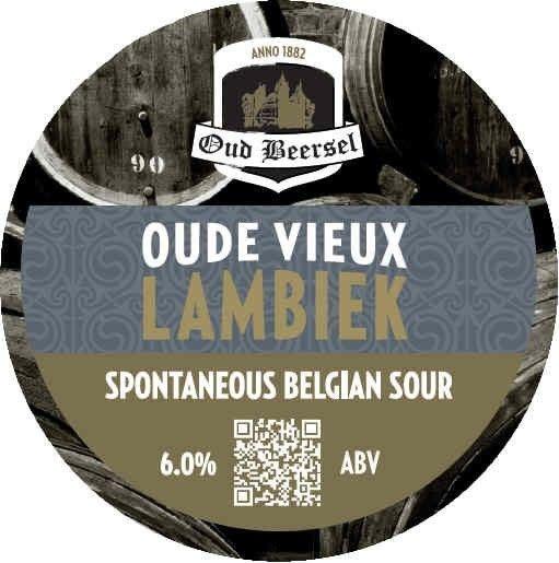 Oud Beersel 'Oude Vieux Lambiek' 32oz Growler