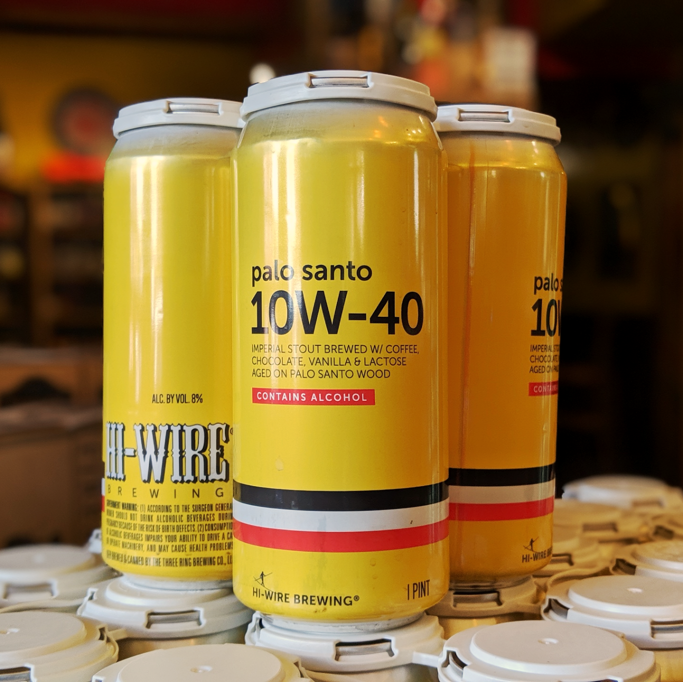 Hi-Wire Brewing 'Palo Santo 10W-40' Imperial Stout 16oz Can