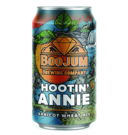 Boojum Brewing Co. 'Hootin Annie' Apricot Wheat Ale 12oz Can