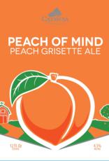 Catawba 'Peach of Mind' Grisette 12oz (Can)