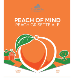 Catawba 'Peach of Mind' Grisette 12oz (Can)