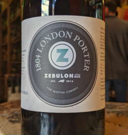 Zebulon Artisan Ales '1804 London Porter' 750ml
