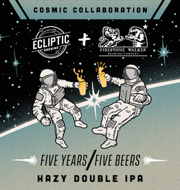 Ecliptic x Firestone Walker 'Hazy Double IPA' 500ml