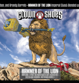 Clown Shoes 'Hammer of the Lion' Barrel Aged Ale 16oz Can