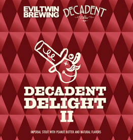 Evil Twin Brewing x Decadent Ales 'Delight II' Imperial Stout 16oz Can