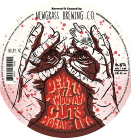 Newgrass 'Death By A Thousand Cuts' IPA 16oz Can