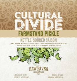 Haw River Farmhouse Ales 'Farmstead Pickle' Kettle-soured Saison 16oz Can