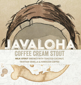 Haw River Farmhouse Ales 'Javaloha' Coffee Cream Stout 16oz Can