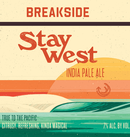 Breakside 'Stay West' IPA 12oz Sgl