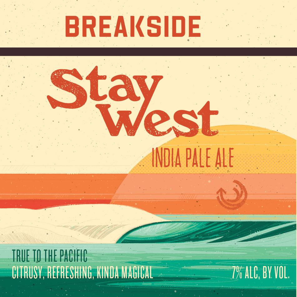 Breakside 'Stay West' IPA 12oz Sgl