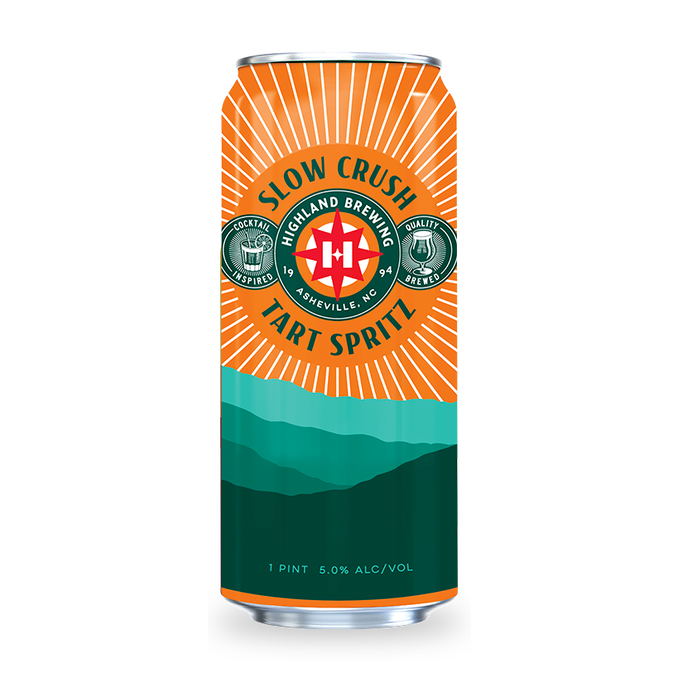 Highland 'Slow Crush' Tart Spritz Ale 16oz (Can)