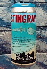 Fonta Flora x Unseen Creatures 'Stingray Shuffle' Strawberry Double IPA 16oz Can