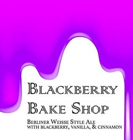 Heist 'Blackberry Bake Shop' Berliner Weisse 16oz Can