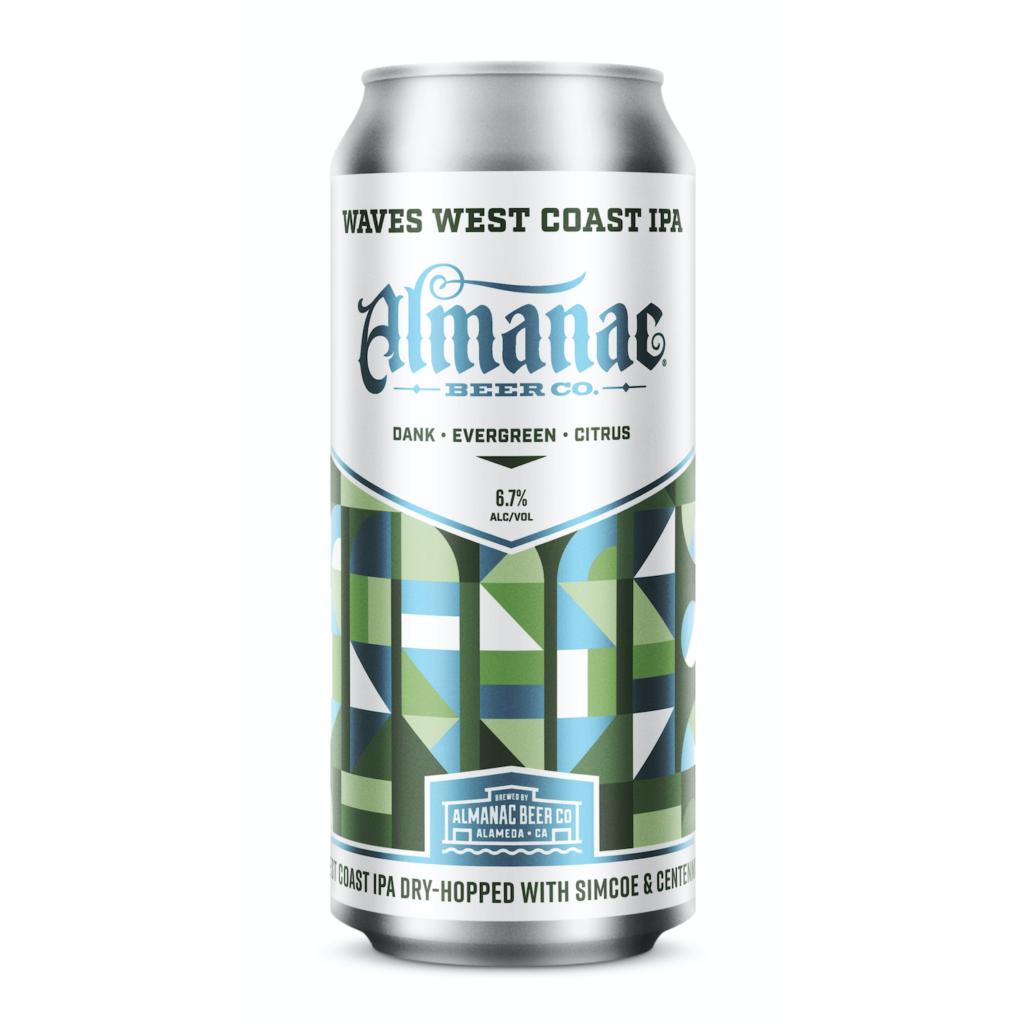 Almanac 'WAVES' West Coast IPA 16oz Can