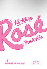 Hi-Wire Brewing 'Rose' Fruit Ale 12oz Can