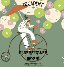 Decadent Ales 'Elderflower Mochi' DIPA 16oz Can