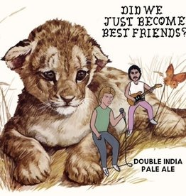Hoof Hearted Hoof Hearted 'Did We Just Become Best Friends' Double IPA 16oz Can
