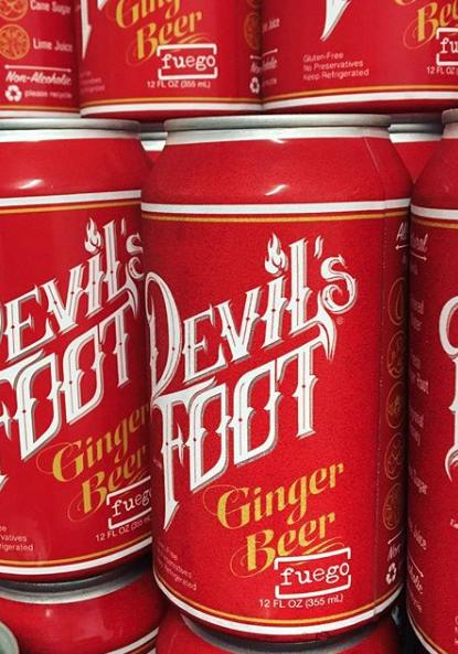 Devil's Foot 'Fuego' Ginger Beer 12oz (Can)
