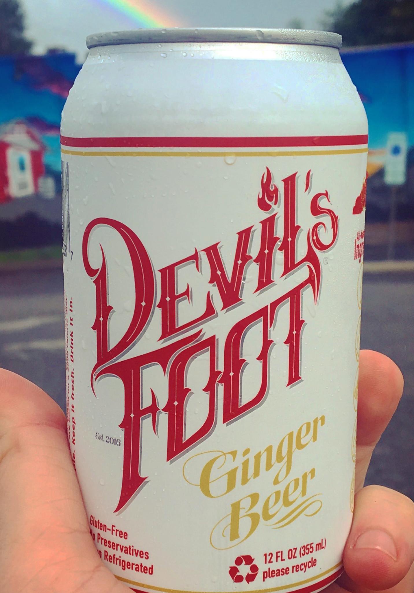 Devil's Foot 'Original' Ginger Beer 12oz (Can)