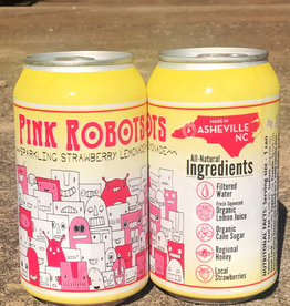 Devil's Foot 'Pink Robots' Sparkling Strawberry Lemonade 12oz (Can)