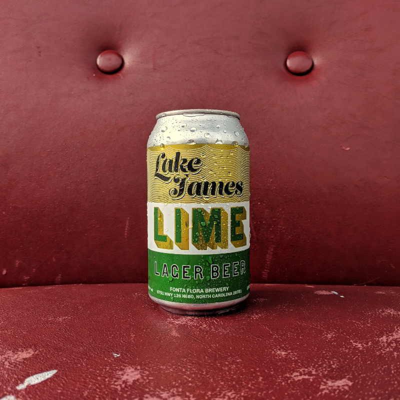 Fonta Flora 'Lake James Lime'  12oz (Can)