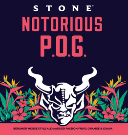 Stone Brewing 'Notorious POG' Berliner Weisse 12oz (Can)