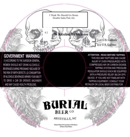 Burial x Other Half 'I Think We Should Go Home' 32oz Growler