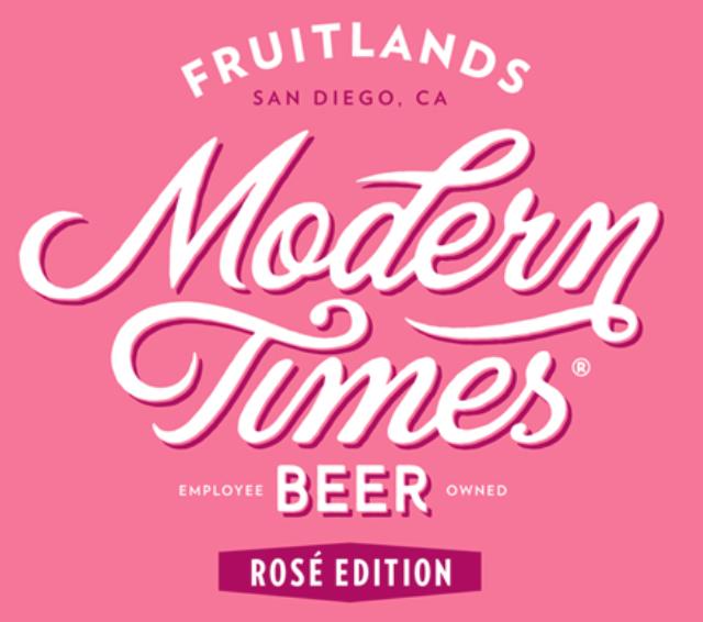 Modern Times 'Fruitlands Rose' Gose 16oz Can