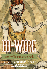 Hi-Wire Brewing 'Zirkusfest' Oktoberfest Lager 12oz Can