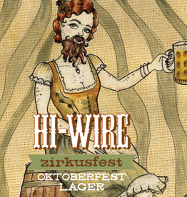 Hi-Wire Brewing 'Zirkusfest' Oktoberfest Lager 12oz Can