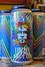 Green Man Brewery 'LUV AVL' Brut IPA 16oz Can