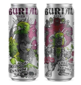 Burial 'Ceremonial feat. Enigma' Session IPA 16oz Can