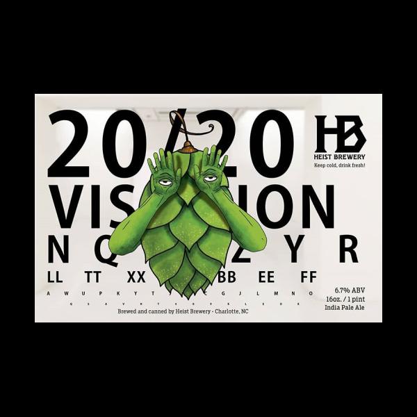 Heist '20/20 Vision' 16oz Can