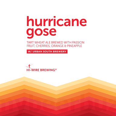 Hi-Wire Brewing x Urban South 'Hurricane Gose' 16oz Can