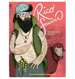 Against the Grain 'Rico Sauvin' Double IPA 16oz Can