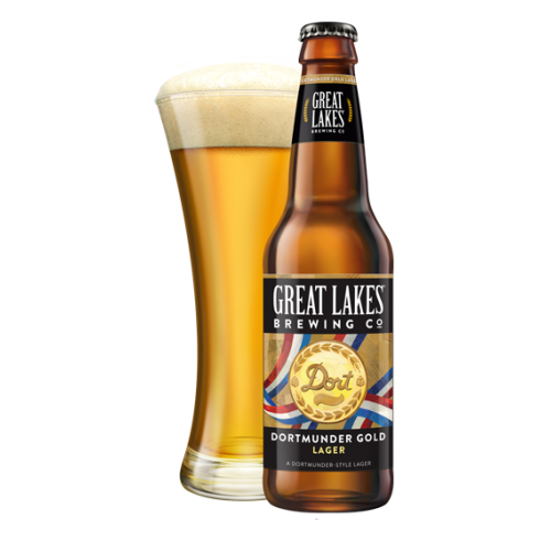 Great Lakes 'Dortmunder Gold' Lager 12oz Sgl