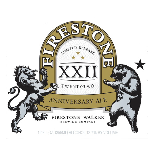 Firestone Walker 'Anniversary Ale XXII' 32oz Growler