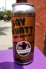 Duck Rabbit 'Say What' Oak Aged IPA 16oz Can