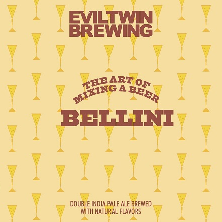 Evil Twin Brewing 'Bellini' Double IPA 16oz Can