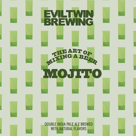 Evil Twin Brewing 'Mojito' Double IPA 16oz Can