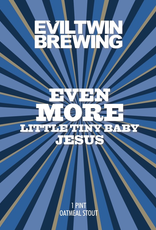 Evil Twin Brewing 'Even More Little Tiny Baby Jesus' Stout 16oz Can