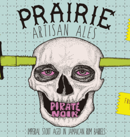 PRAIRIE Artisan Ales 'Pirate Noir' Rum Barrel Aged Imperial Stout 12oz Sgl