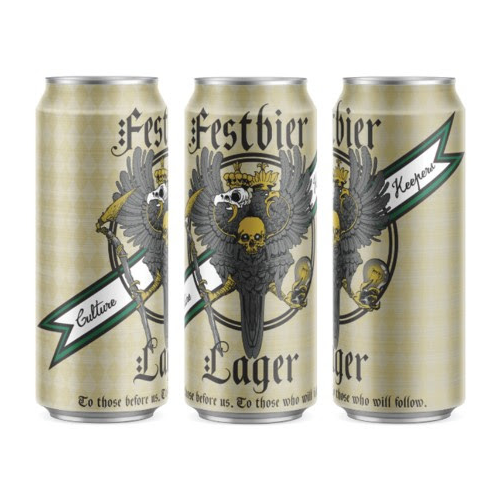 Burial 'Culture Keepers' Festbier Lager 16oz Can