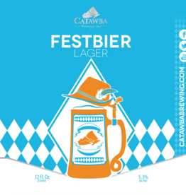 Catawba 'Festbier' Lager 12oz (Can)