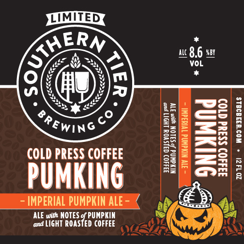 Southern Tier 'Cold Press Pumking' Imperial Pumpkin Ale 12oz Sgl